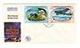 NOUVELLES HEBRIDES 1967 25th Anniversary of World War 2. Set of 4 on first day cover. - 37892 - FDC