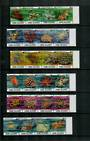COOK ISLANDS 1980 Definitives. Set of 77 in strips or blocks as applicable. - 37963 - UHM