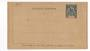 OBOCK 1892 Carte-Lettre 15c Blue. Unused. - 38153 - PostalHist