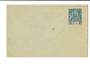 OBOCK 1892 Postal Stationery 15c Blue. Unused. - 38155 - PostalHist