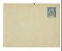 OBOCK 1892 Postal Stationery 15c Blue. Unused. - 38156 - PostalHist