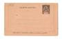 OBOCK 1892 Carte-Lettre 25c Black. Unused. - 38157 - PostalHist