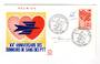 REUNION 1972 Blood Donors on first day cover. - 38171 - FDC