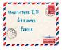 REUNION 1971 Airmail Letter from St Benoit to Nantes. - 38174 - PostalHist