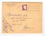 REUNION 1961 Airmail Letter from St Denis to Nantes. - 38180 - PostalHist