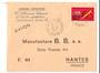 REUNION 1972  Airmail Letter from St Gilles les Bains to Nantes. - 38182 - PostalHist