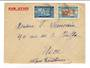 SENEGAL 1936 Airmail Letter to Nice. - 38192 - PostalHist
