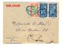 SENEGAL 1936 Airmail Letter from Dakar to Paris. Very untidy. - 38196 - PostalHist