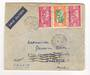 SENEGAL 1936 Airmail Letter from Dakar to Marseille Gare. - 38198 - PostalHist