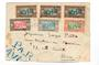 SENEGAL 1933 Airmail Letter to Paris. Obvious damage. - 38205 - PostalHist