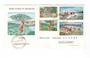 ST PIERRE et MIQUELON 1969 Tourism. Set of 4 on first day cover. - 38228 - FDC