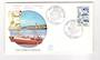 ST PIERRE et MIQUELON 1982 Fishing Boats on first day cover. - 38232 - FDC