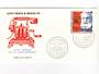 ST PIERRE et MIQUELON 1976 Centenary of the Telephone on first day cover. - 38236 - FDC