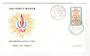 ST PIERRE et MIQUELON 1968 Human Rights Year on first day cover. - 38241 - PostalHist