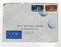 FRENCH SOMALI COAST 1954 Airmail Letter from Djibouti to Paris. - 38259 - PostalHist