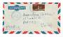 FRENCH SOMALI COAST 1953 Airmail Letter from Djibouti to Nantes. - 38260 - PostalHist