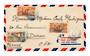 FRENCH SOMALI COAST 1950 Airmail Letter from Djibouti to France. - 38264 - PostalHist