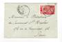 FRENCH SOMALI COAST 1916 Letter to Paris. Wax seal. - 38266 - PostalHist