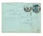 TUNISIA 1882 Postal Staionery 15c Blue sent from Tunis to Paris in 1899. - 38278 - PostalHist