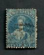 NEW ZEALAND 1862 Victoria 1st Full Face Queen 2d Blue. - 39017 - Used