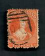 NEW ZEALAND 1862 Full Face Queen 2d Orange. Unpleasant Postmark. - 39044 - Used