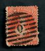 NEW ZEALAND Postmark Numeral O inside diamond very effectively shown on Full Face Queen 2d Orange. - 39046 - Used