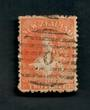 NEW ZEALAND Postmark Numeral 0 (not in the diamond) on Full Face Queen 2d Orange. - 39067 - Used