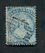 NEW ZEALAND 1862 Full Face Queen 2d Pale Blue. Plate 1 worn. Perf 12½ at Auckland. - 39086 - Used
