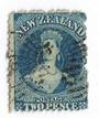 NEW ZEALAND 1862 Full Face Queen 2d Deep Blue. Plate 2. Perf 12½ at Auckland. - 39185 - Used