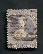NEW ZEALAND 1862 Victoria 1st Full Face Queen 3d Lilac. Reasonable copy. Postmark not the best. - 39216 - Used