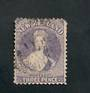 NEW ZEALAND 1862 Victoria 1st Full Face Queen 3d Lilac. Very attractive stamp with very light postmark but a dull corner spoils