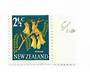 NEW ZEALAND 1967 Pictorial 2/½c Kowhai with unlisted flaw Row 5/10 major lack of yellow colour in the flowers. Visible by compar