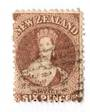 NEW ZEALAND 1862 Full Face Queen 6d Brown. Perf 12½ at Auckland. - 39287 - Used