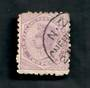 NEW ZEALAND 1882 Victoria 1st Second Sideface 2d Mauve. Perf 10. Secnd setting. Stop that Cough Bonnington's Irish Moss will do