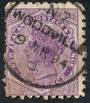 NEW ZEALAND 1882 Victoria 1st Second Sideface 2d Mauve. Perf 10. Secnd setting. A Slight Cold Use at once Bonnington's Irish Mos