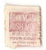 NEW ZEALAND 1882 Victoria 1st Second Sideface 2d Mauve. Perf 10. Secnd setting. Bonnington's Irish Moss will cure your cough as