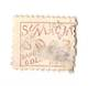 NEW ZEALAND 1882 Victoria 1st Second Sideface 2d Mauve. Perf 10. Secnd setting. Sunlight Soap saves Golden Hours. In poor condit
