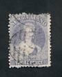 NEW ZEALAND 1862 Full Face Queen 3d Lilac. Excellent looking copy with small fault at the top visible only from the reverse. - 3