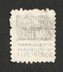 NEW ZEALAND 1882 Victoria 1st Second Sideface 6d Brown. Perf 10. 3rd setting in Mauve. Bonningtons Irish Moss. - 4001 - FU