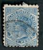 NEW ZEALAND 1882 Victoria 1st Second Sideface 8d Blue. Perf 10. 3rd setting in Brown-Purple. Sunlight Soap. - 4004 - FU