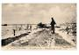 BELGIUM Postcard of Ramscapelle under yhe Water during the War. - 40048 - Postcard