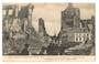 Postcard of The Gret European War. Fire of Louvain Belgium. Cathedral Church and Trippes Street. - 40056 - Postcard