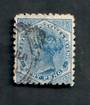 NEW ZEALAND 1882 Victoria 1st Second Sideface 8d Blue. Perf 10. 3rd setting in Brown-Purple. Sunlight Soap. - 4007 - FU