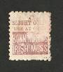 NEW ZEALAND 1882 Victoria 1st Second Sideface 1/- Red-Brown. Perf 10. 3rd setting in Red to Brown-Red. Bonningtons Irish Moss. F