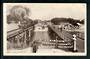 AUSTRALIA Real Photograph of Train at Carrum Victoria. Advertising for Sheldons. - 40679 - Postcard