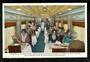 USA Coloured Postcard by Union Pacific Railroad of the Interior of Air Conditioned Dining Car on the Portland Rose. - 40693 - Po