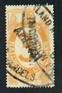 NEW ZEALAND 1925 Railway Charges 3d Yellow. Overprinted THORNDON. - 4076 - Used