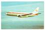 Coloured postcard of NAC Boeing 737. - 40833 - Postcard