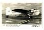 Real Photograph of B.E.A.Bristol Freighter. - 40851 - Postcard