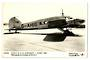 Real Photograph of Early B.E.A. Avro 1947. - 40854 - Postcard